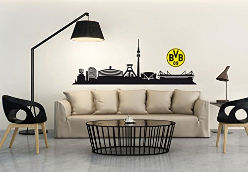 wandtattoo bvb 09 dortmund wandsticker. Black Bedroom Furniture Sets. Home Design Ideas