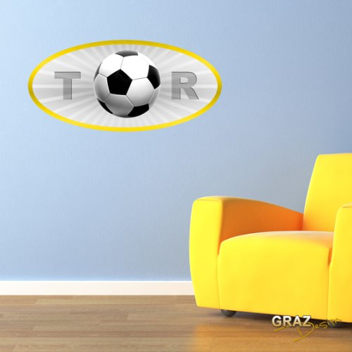 wandtattoo fu ball wandleuchte fussballvereine und fussballspieler. Black Bedroom Furniture Sets. Home Design Ideas