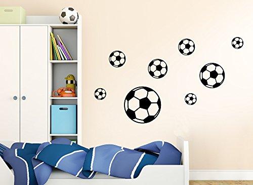 wandtattoo fussballtor. Black Bedroom Furniture Sets. Home Design Ideas