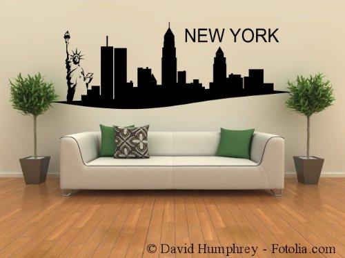 Wandtattoo new york skyline - Skyline london wandtattoo ...