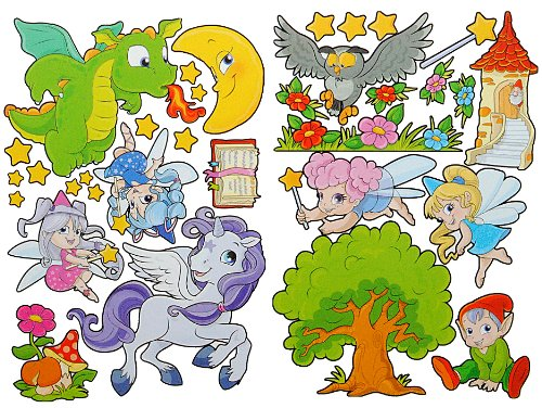 Wandtattoo drache for Deko sticker kinderzimmer