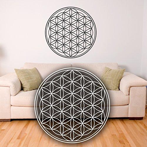 wandtattoo blume des lebens lebensblume. Black Bedroom Furniture Sets. Home Design Ideas