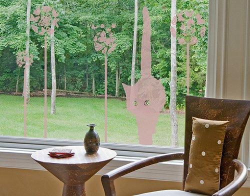 Blumenwiese Kinderzimmer : GlasDekor Tattoo No.RS76 Katze in ...