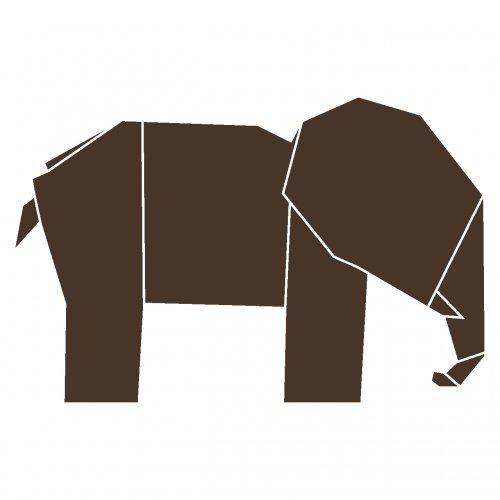 wandtattoo elefant f rs kinderzimmer oder wohnzimmer. Black Bedroom Furniture Sets. Home Design Ideas