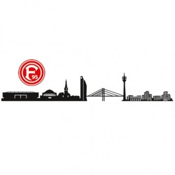 wandtattoo fortuna d sseldorf logo oder skyline. Black Bedroom Furniture Sets. Home Design Ideas