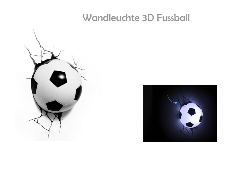 Wandtattoo Fussball Wandleuchte Fussballvereine Und