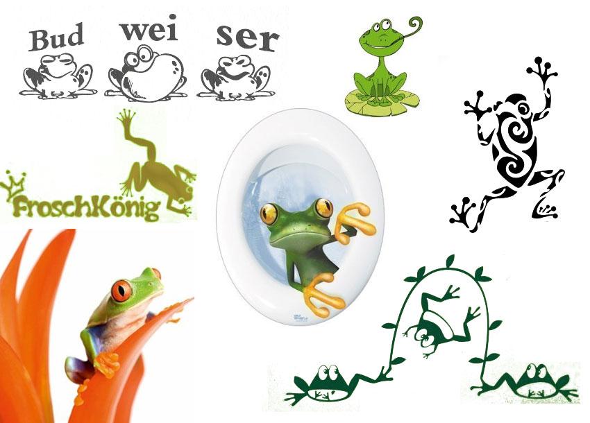 Wandtattoo Froschkönig verschiedene wandtattoo mit frosch in der übersicht