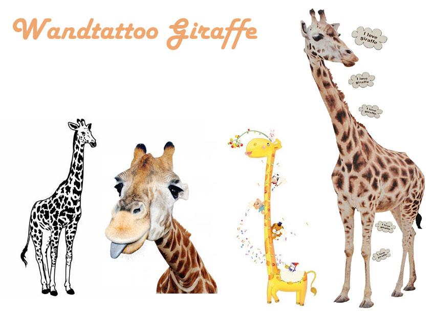 Wandtattoo Giraffe Fur Kinder Oder Wohnzimmer