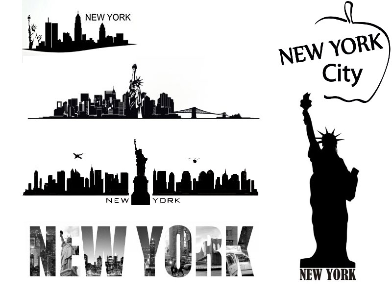 ... Wandtattoo New York Skyline. Updated: ...