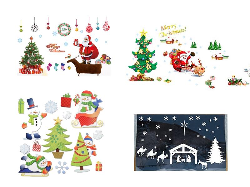 Wandtattoo Weihnachten